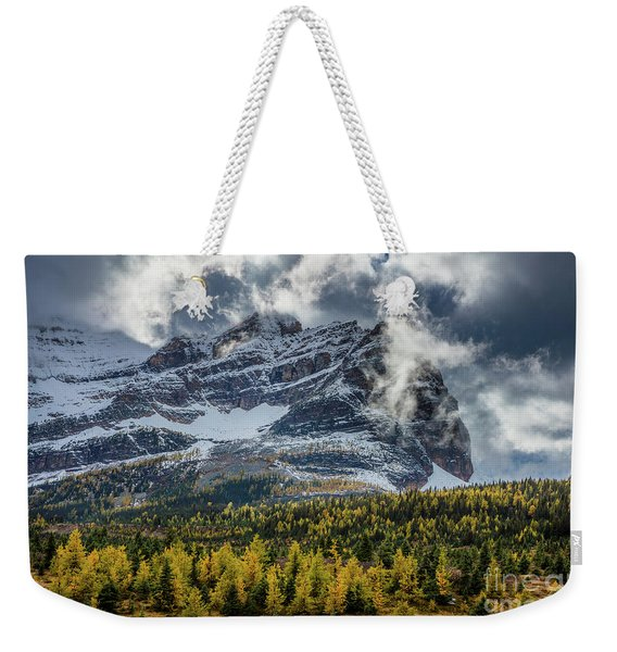 Magical Mountain Clouds Weekender Tote Bag