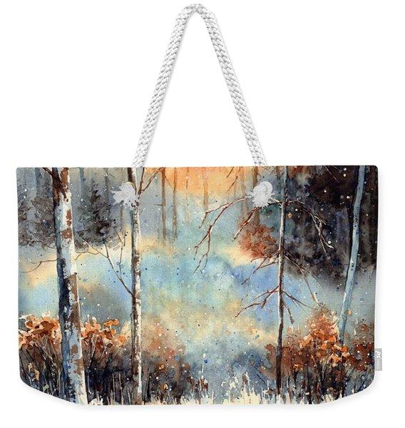 Magical Sun Weekender Tote Bag