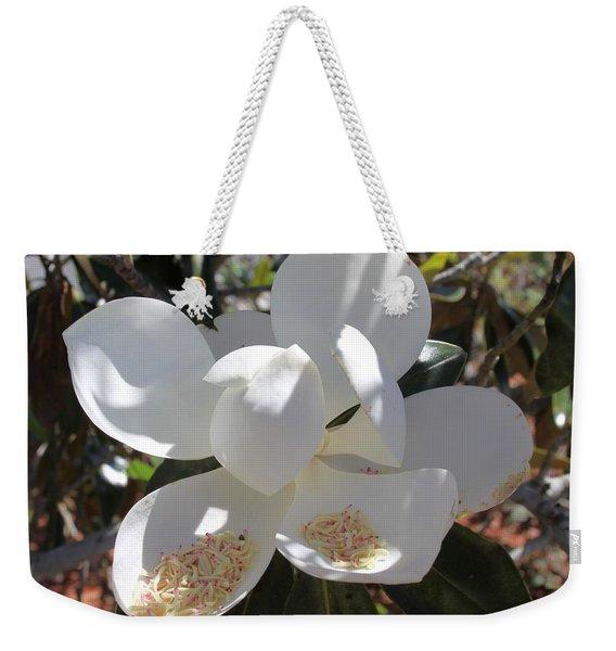 Magnificent Magnolia Weekender Tote Bag