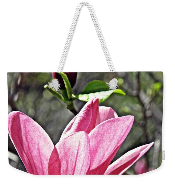 Magnolia And Bud  Weekender Tote Bag