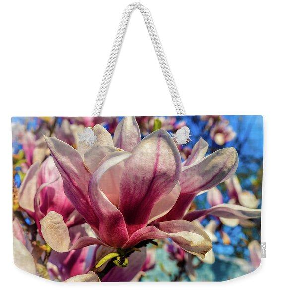 Magnolia Flowers Weekender Tote Bag