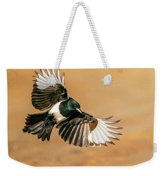 Magpie Beauty Weekender Tote Bag