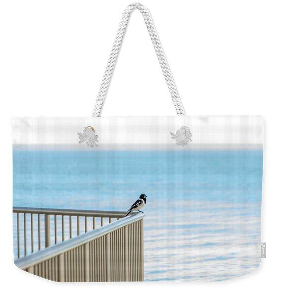 Magpie In Waiting Weekender Tote Bag
