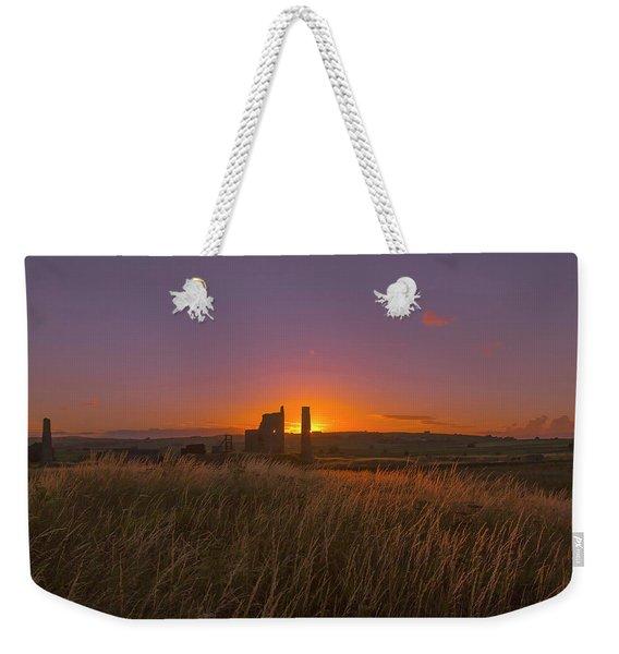 Magpie Mine Sunset Weekender Tote Bag
