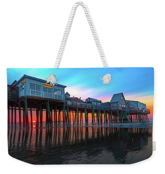 Maine Magnificent Morning Weekender Tote Bag
