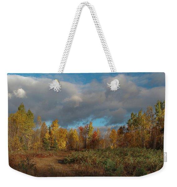 Maine Wilderness Color 2 Weekender Tote Bag