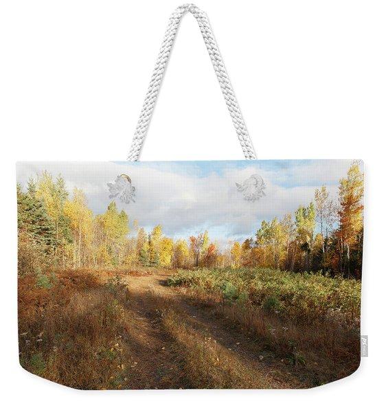 Maine Wilderness Color Weekender Tote Bag