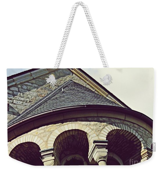 Mainz Cathedral Arches  Weekender Tote Bag