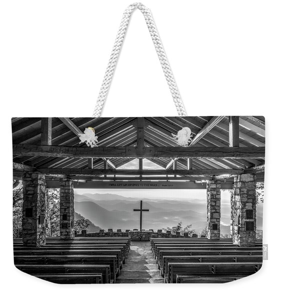 Majestic Beauty 2 B W Pretty Place Chapel Symmes Chapel Art Weekender Tote Bag