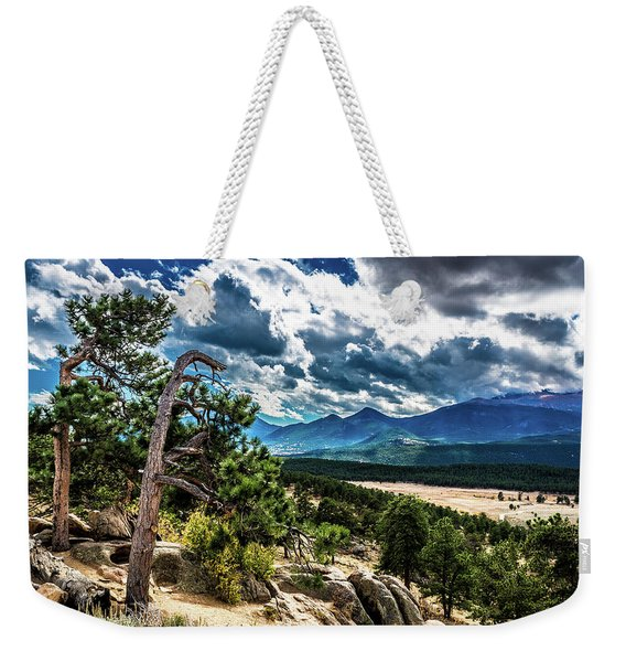 Majestic Clouds Weekender Tote Bag