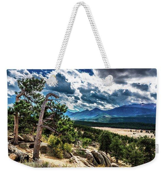 Majestic Clouds Weekender Tote Bag