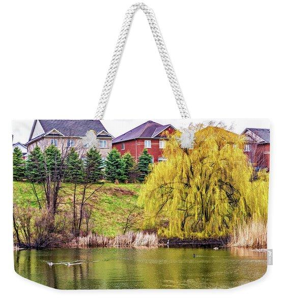 Major Oak Park - Paint Weekender Tote Bag