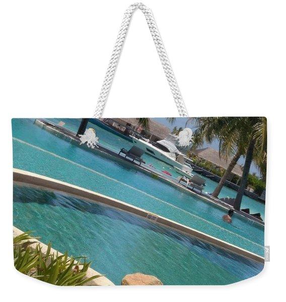 Maldivies Weekender Tote Bag
