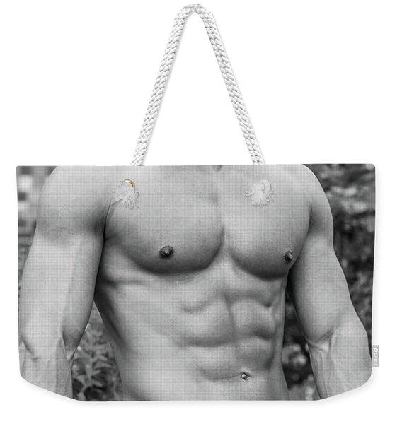 Male Torso 2 Weekender Tote Bag