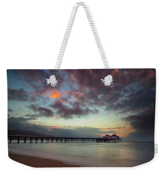 Malibu Pier IIi Weekender Tote Bag