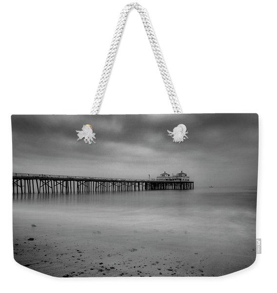 Malibu Pier Weekender Tote Bag