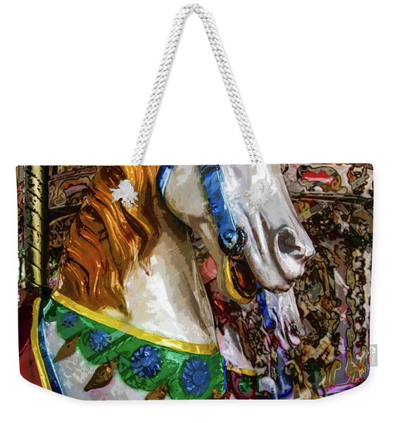 Mall Of Asia Carousel 1 Weekender Tote Bag