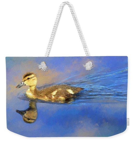 Mallard Duckling Weekender Tote Bag