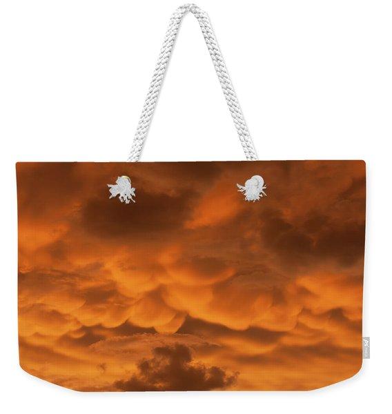 Mammatus Clouds Weekender Tote Bag