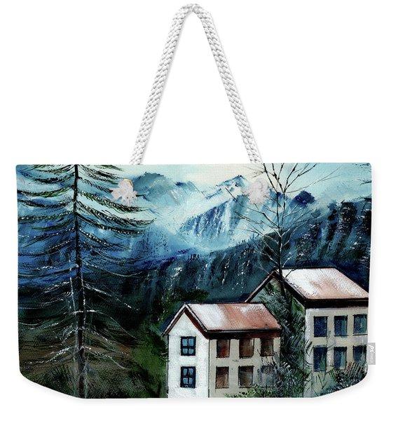 Manali 1 Himalaya Weekender Tote Bag