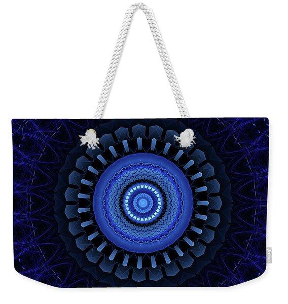 Mandala 27 Weekender Tote Bag