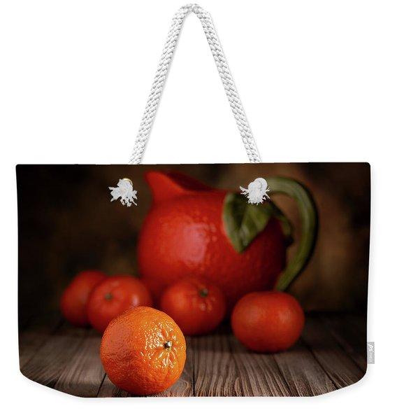 Mandarin Oranges - Cuties Weekender Tote Bag
