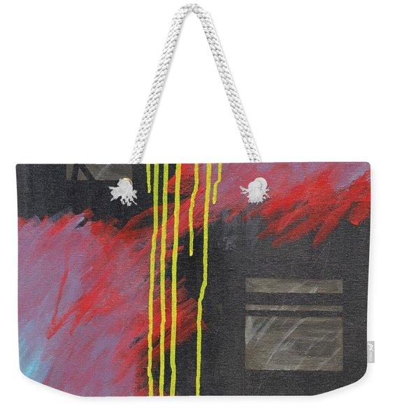 Mandm Drip Weekender Tote Bag
