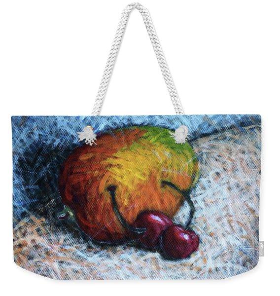 Mango And Cherries Weekender Tote Bag
