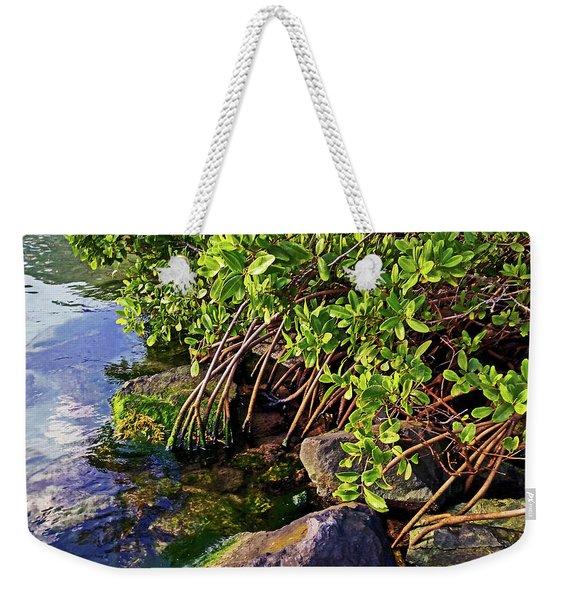 Mangrove Bath Weekender Tote Bag