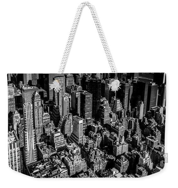 Manhattan Rooftop View Weekender Tote Bag
