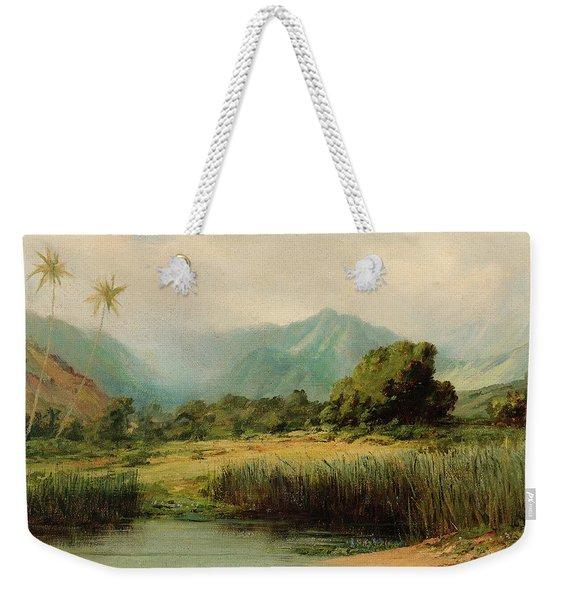 Manoa Valley, Oahu Weekender Tote Bag
