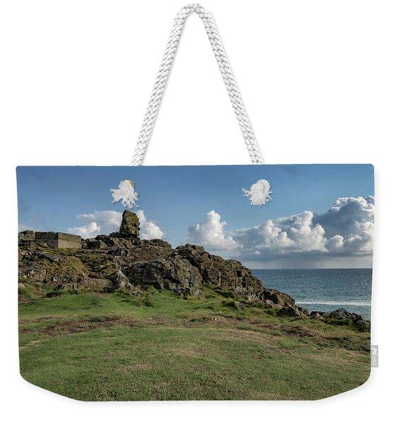 Man's Head - St Ives Cornwall Weekender Tote Bag