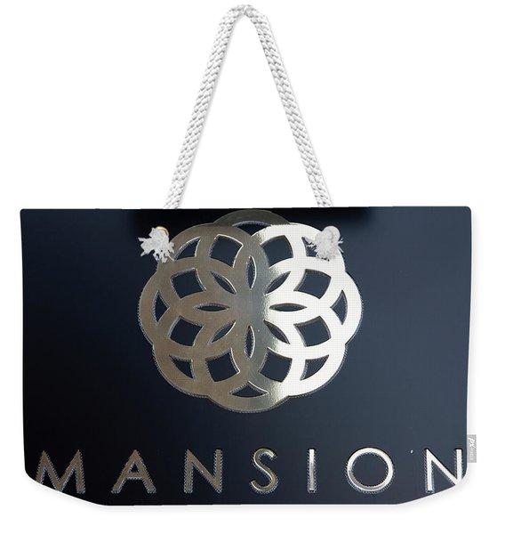 Colours. Mansion Black Weekender Tote Bag