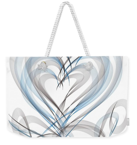 Many Hearts Weekender Tote Bag