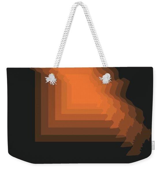 Map Of Missouri 1 Weekender Tote Bag
