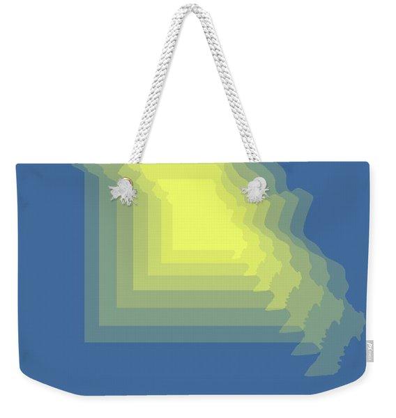 Map Of Missouri Weekender Tote Bag