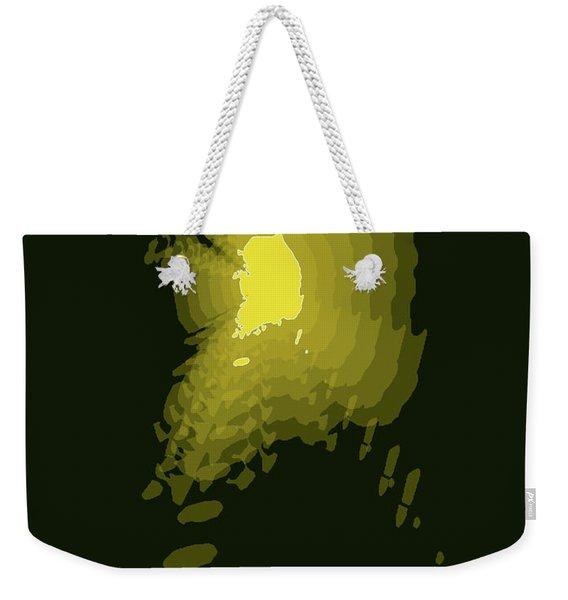 Map Of South Korea 2 Weekender Tote Bag