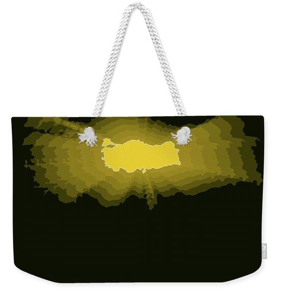 Map Of Turkey 3 Weekender Tote Bag