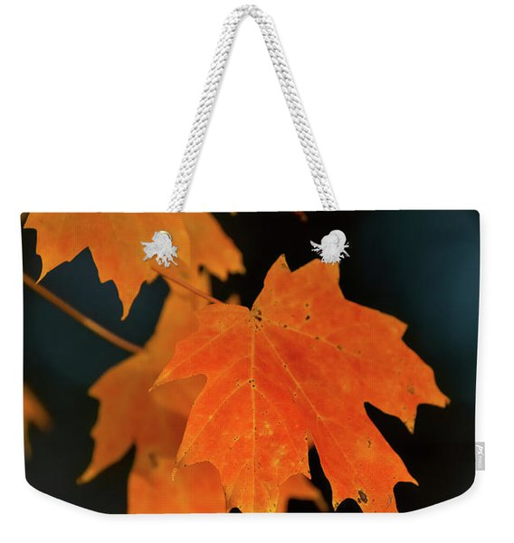 Maple-1 Weekender Tote Bag