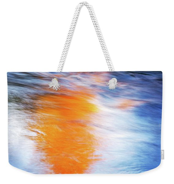 Maple Reflection Fall Weekender Tote Bag