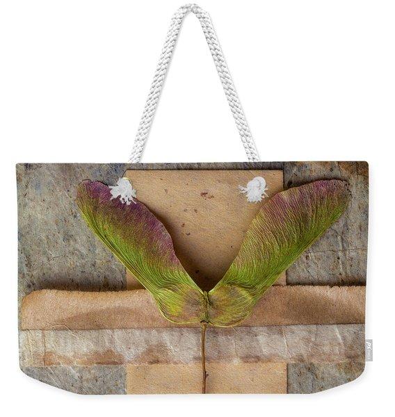 Maple Tree Seed Pod Weekender Tote Bag