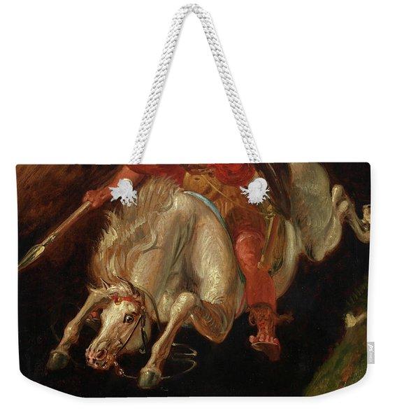 Marcus Curtius Weekender Tote Bag