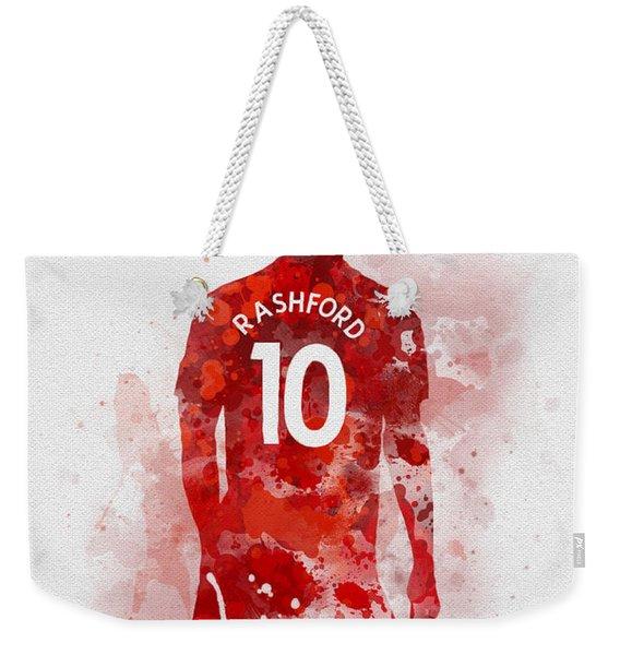 Marcus Rashford Weekender Tote Bag