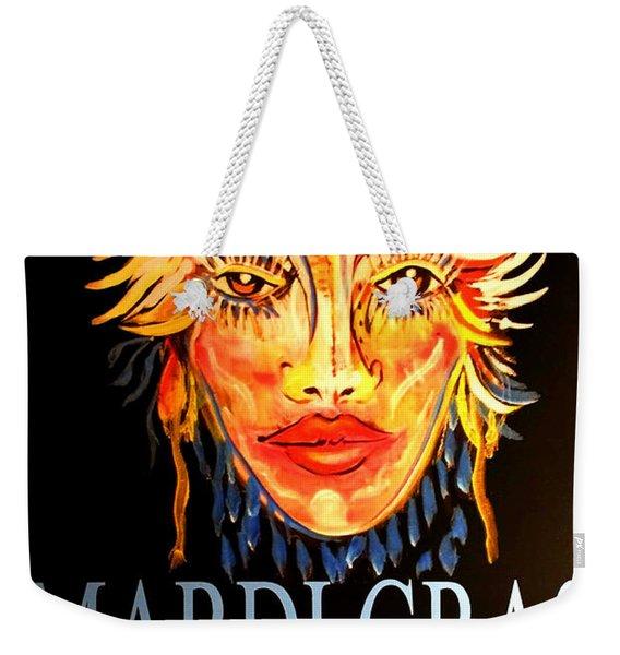 Mardi Gras Lady Weekender Tote Bag