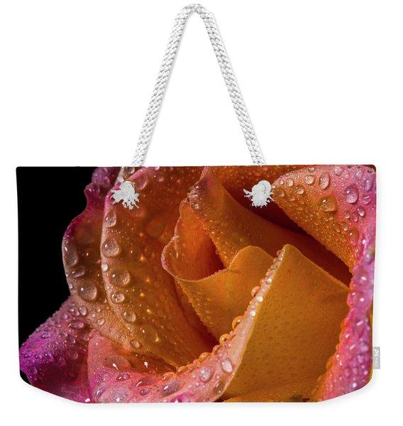 Mardi Gras Sprinkled Beauty Weekender Tote Bag