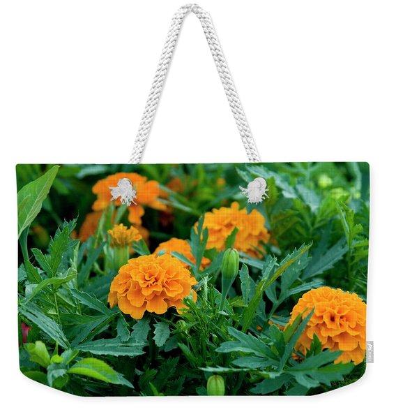 Marigolds Weekender Tote Bag