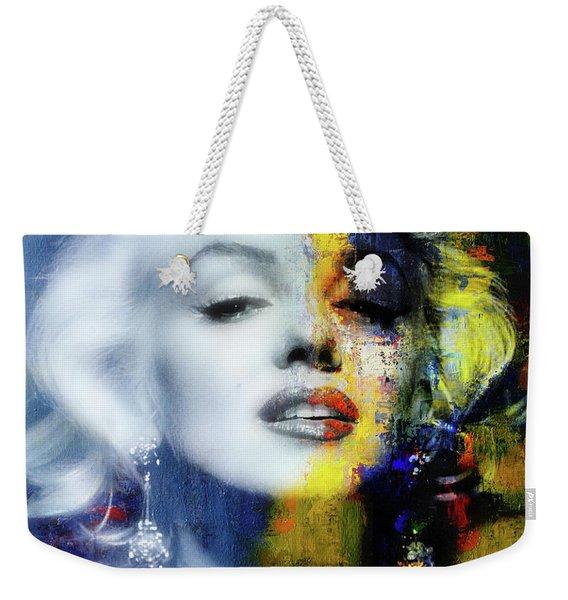 Marilyn Duality Weekender Tote Bag