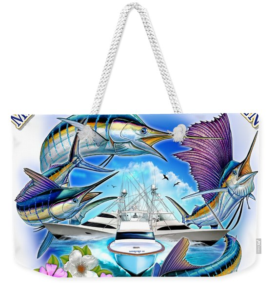 Marina Casa De Campo Open Art Weekender Tote Bag