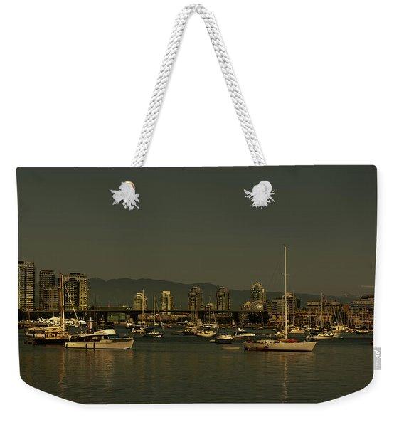 Marina Golden Hours Weekender Tote Bag