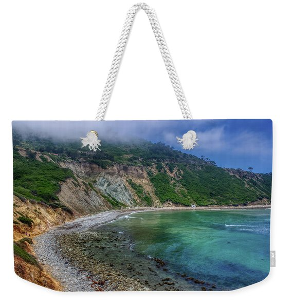 Marine Layer Over Bluff Cove Weekender Tote Bag